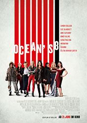"""""""Ocean's 8"""" Filmplakat"""