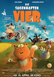 """""""Die sagenhaften Vier"""" Filmplakat (© Universum Film)"""