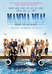 """""""Mamma Mia! Here we go again"""" Filmplakat"""