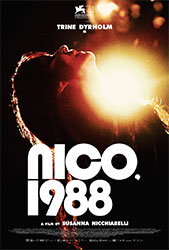 """Nico, 1988"" Filmplakat"