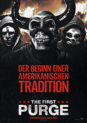 """The First Purge"" Filmplakat"