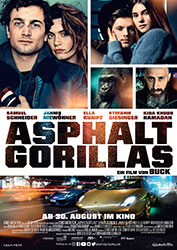 """Asphaltgorillas"" Filmplakat (© 2018 Constantin Film Verleih GmbH)"
