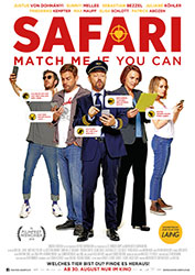 """Safari - Match Me If You Can"" Filmplakat"
