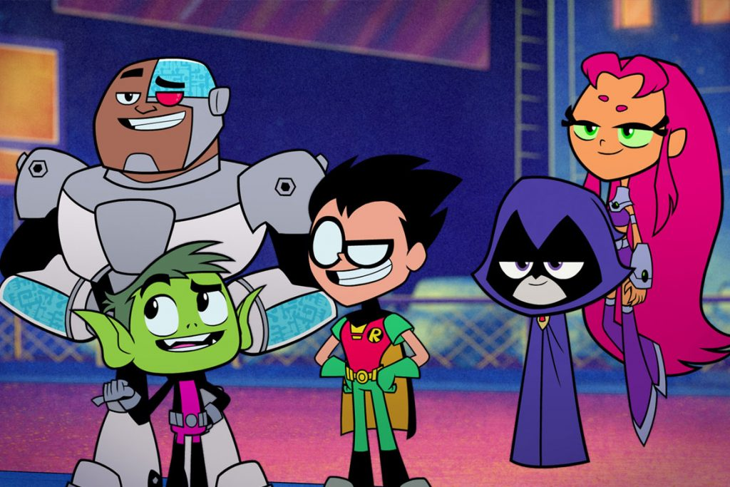 """Teen Titans Go! To The Movies"" (© 2018 WARNER BROS. ENTERTAINMENT INC. ALL RIGHTS RESERVED / Photo Credit: Courtesy of Warner Bros. Pictures)"