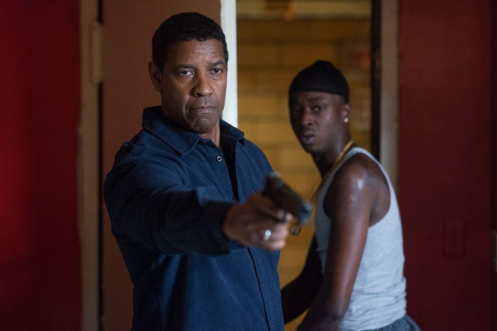 "(Robert McCall (Denzel Washington, l.) und Miles (Ashton Sanders, r.) in Sony Pictures' ""The Equalizer 2"" - © 2018 Sony Pictures Entertainment Deutschland GmbH)"