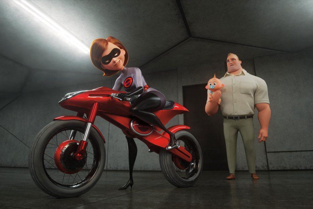 """""""Die Unglaublichen 2"""" Szenenbild (© 2018 Disney•Pixar. All Rights Reserved.)"""