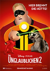 """Die Unglaublichen 2"" Filmplakat (© 2018 Disney•Pixar. All Rights Reserved.)"
