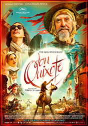 """The Man Who Killed Don Quixote"" Filmplakat (© 2018 Concorde Filmverleih GmbH)"