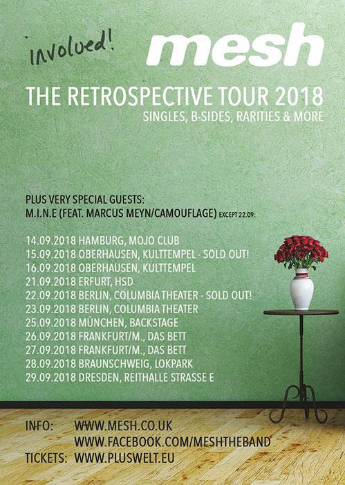 Mesh Tourplakat 2018