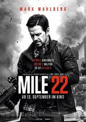 """""""Mile 22"""" Filmplakat (© Universum Film)"""