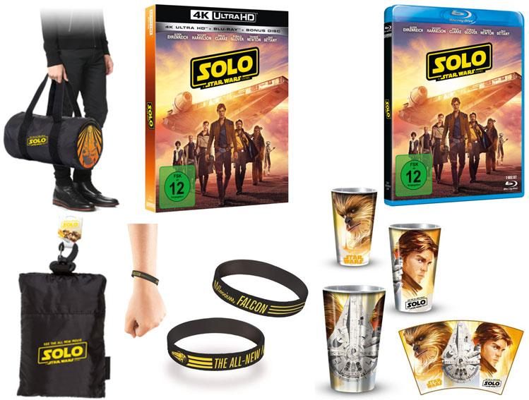 """""""Solo: A Star Wars Story"""" Fanpakete (© 2018 & TM Lucasfilm Ltd.)"""