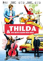 """""""Thilda & die beste Band der Welt"""" Filmplakat"""
