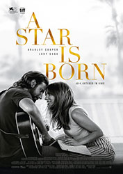 """A Star Is Born"" Filmplakat (© 2018 WARNER BROS. ENTERTAINMENT INC. AND METRO-GOLDWYN-MAYER PICTURES INC. ALL RIGHTS RESERVED)"