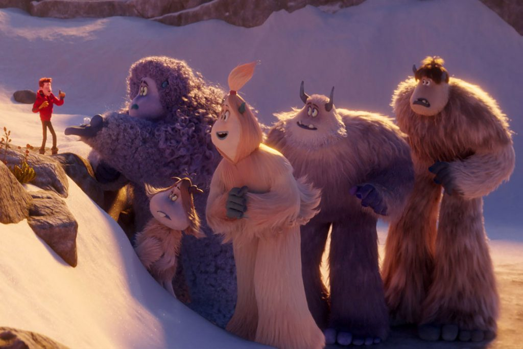 """Smallfoot"" Szenenbild (© 2018 WARNER BROS. ENTERTAINMENT INC.)"