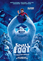 """Smallfoot"" Filmplakat (© 2018 WARNER BROS. ENTERTAINMENT INC.)"