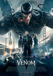 """Venom"" Filmplakat (© 2018 Sony Pictures Entertainment Deutschland GmbH)"