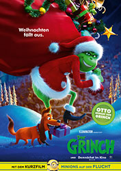 """Der Grinch"" Filmplakat (© 2018 Universal Studios. ALL RIGHTS RESERVED.)"