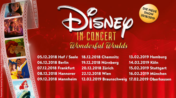 """Disney in Concert – Wonderful Worlds"""