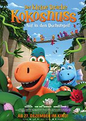 """""""Der kleine Drache Kokosnuss - Auf in den Dschungel!"""" Filmplakat"""