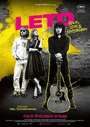 """""""Leto"""" Filmplakat"""