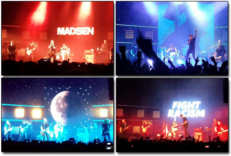 Madsen live (Fotos: Tobias Matkowitz)