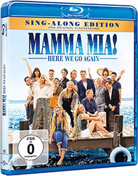 """Mamma Mia! Here We Go Again"" Cover"