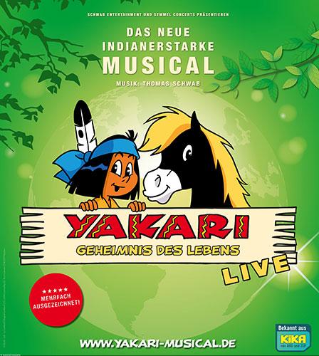 """""""Yakari 2 - Geheimnis des Lebens"""" Keyvisual"""