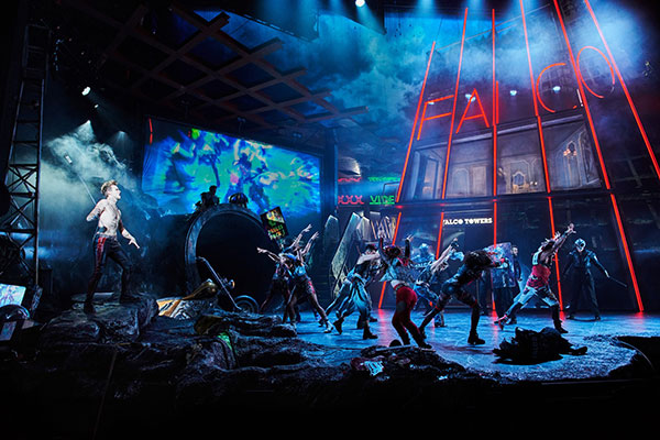 "Jim Steinmans ""Bat Out Of Hell - das Musical"" (© Stage Entertainment)"