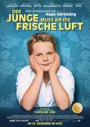 """""""Der Junge muss an die frische Luft"""" Filmplakat (© 2018 Warner Bros. Ent)"""