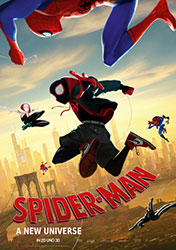 """Spider-Man: A New Universe"" Filmplakat (© 2018 Sony Pictures Entertainment Deutschland GmbH)"