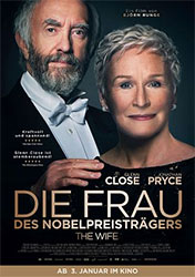 """""""Die Frau des Nobelpreisträgers - The Wife"""" Filmplakat"""
