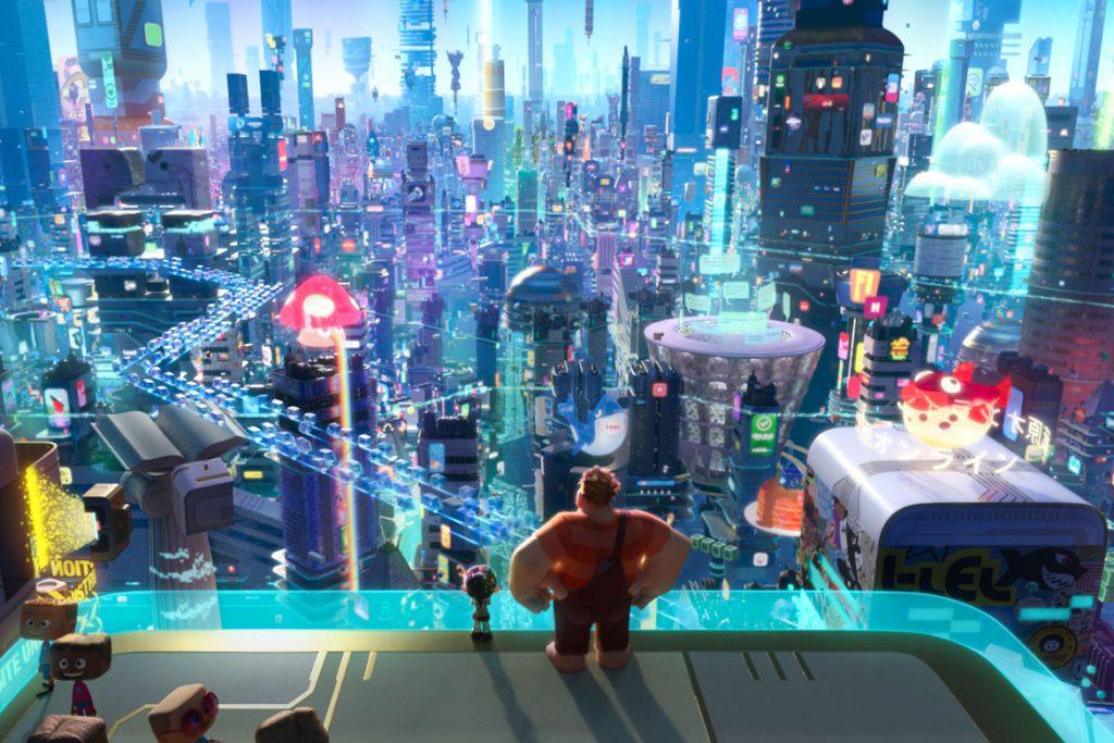"""""""Chaos im Netz"""" Szenenbild (© Disney 2018)"""