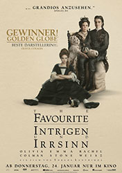 """The Favourite – Intrigen und Irrsinn"" Filmplakat (© 2018 Twentieth Century Fox)"