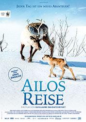 """Ailos Reise"" Filmplakat (© 2019 Valdés - Borsalino Productions – Gaumont – MRP Matila Röhr Productions)"