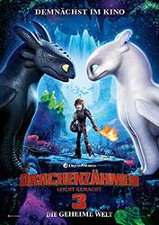 """""""Drachenzähmen leicht gemacht 3: Die geheime Welt"""" Filmplakat (© 2019 DreamWorks Animation LLC. All Rights Reserved.)"""