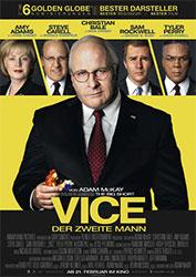 """""""Vice - Der zweite Mann"""" Filmplakat (© Universum Film)"""