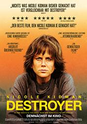 """""""Destroyer"""" Filmplakat (© 2018 Concorde Filmverleih GmbH)"""