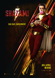 """Shazam!"" Filmplakat (© 2019 Warner Bros. Entertainment Inc.)"