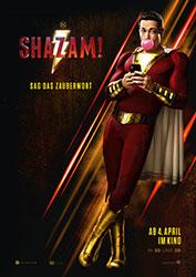 """Shazam!"" Filmplakat (© 2019 Warner Bros. Entertainment Inc.)"