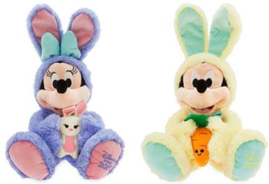 Micky und Minnie als Oster-Hasen von Disney (© Disney)