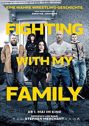 """Fighting With My Family"" Filmplakat (© 2018 Metro-Goldwyn-Mayer Pictures Inc. All Rights Reserved.)"