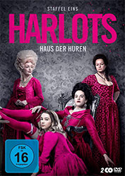 """Harlots - Haus der Huren"" Staffel 1 DVD-Cover"
