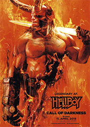 """Hellboy – Call of Darkness"" Filmplakat"