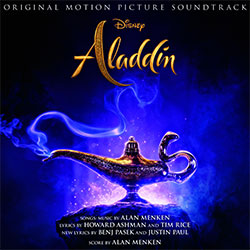 """Aladdin"" Soundtrack-CD (© 2019 Disney)"