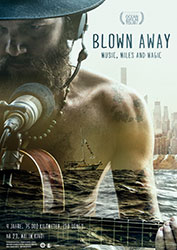 """Blown Away - Music, Miles and Magic"" Filmplakat"