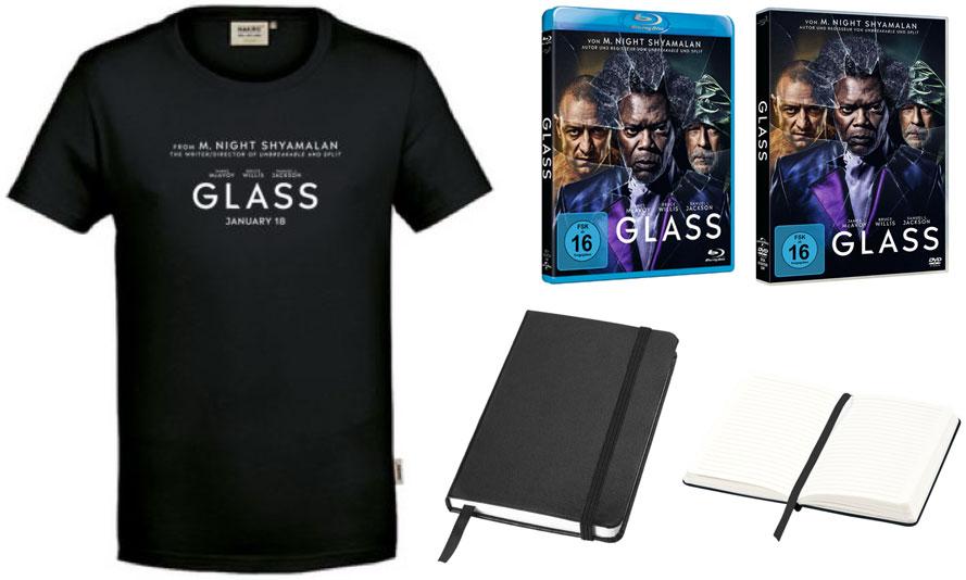 """Glass"" Fanpaket"
