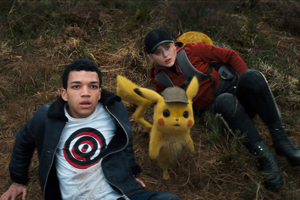 """Pokémon: Meisterdetektiv Pikachu"" Szenenbild (© 2019 WARNER BROS. ENTERTAINMENT INC. AND LEGENDARY. ALL RIGHTS RESERVED.)"