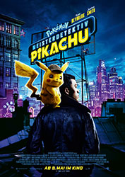 """Pokémon: Meisterdetektiv Pikachu"" Filmplakat (© 2019 Warner Bros. Entertainment Inc.)"