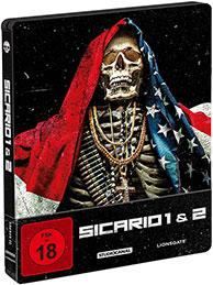"""""""Sicario 1 + 2"""" Limited Edition Steelbook"""