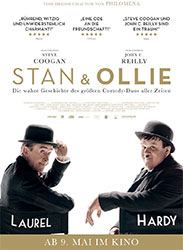 """Stan & Ollie"" Filmplakat (© SquareOne)"